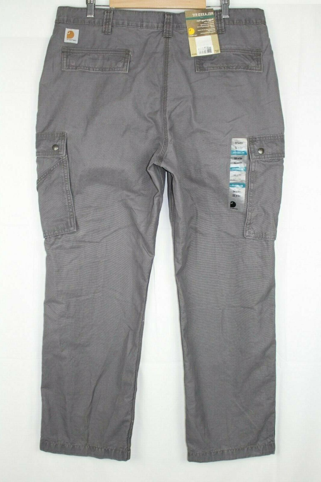 new men s relaxed fit rugged cargo
