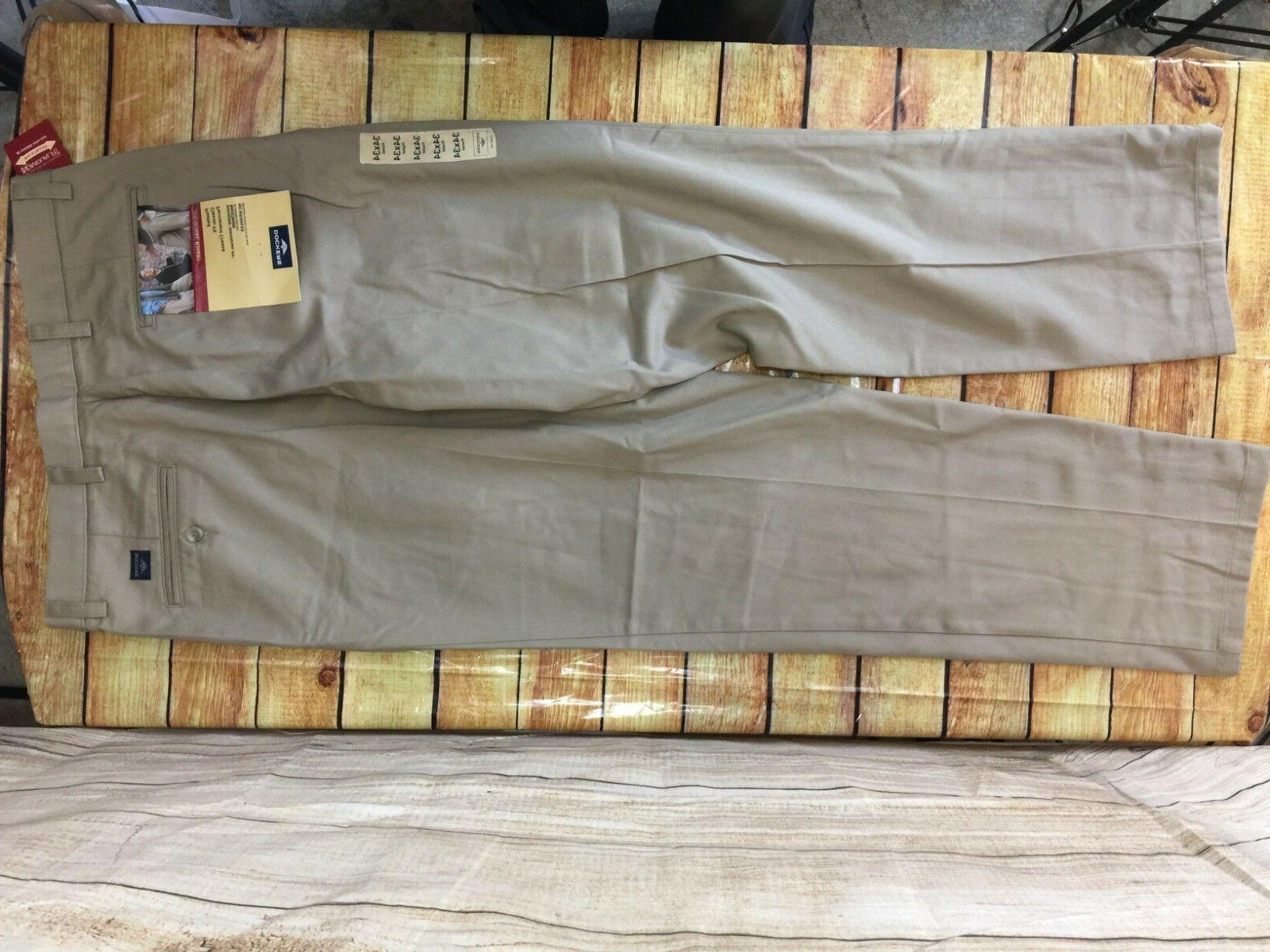 New Dockers Khaki Pants Beige X Fit