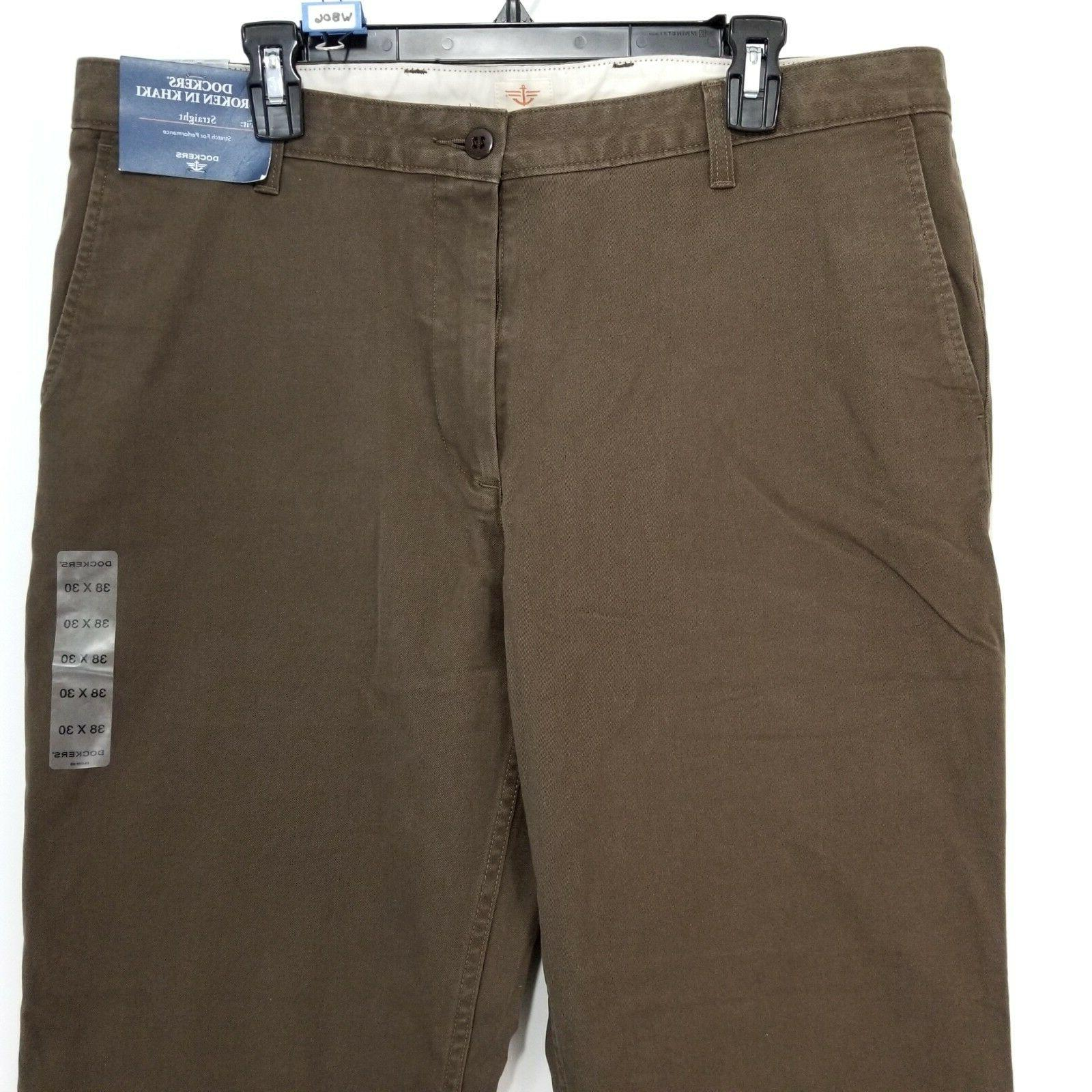 NWT Brown Broken In Pants x Men $58