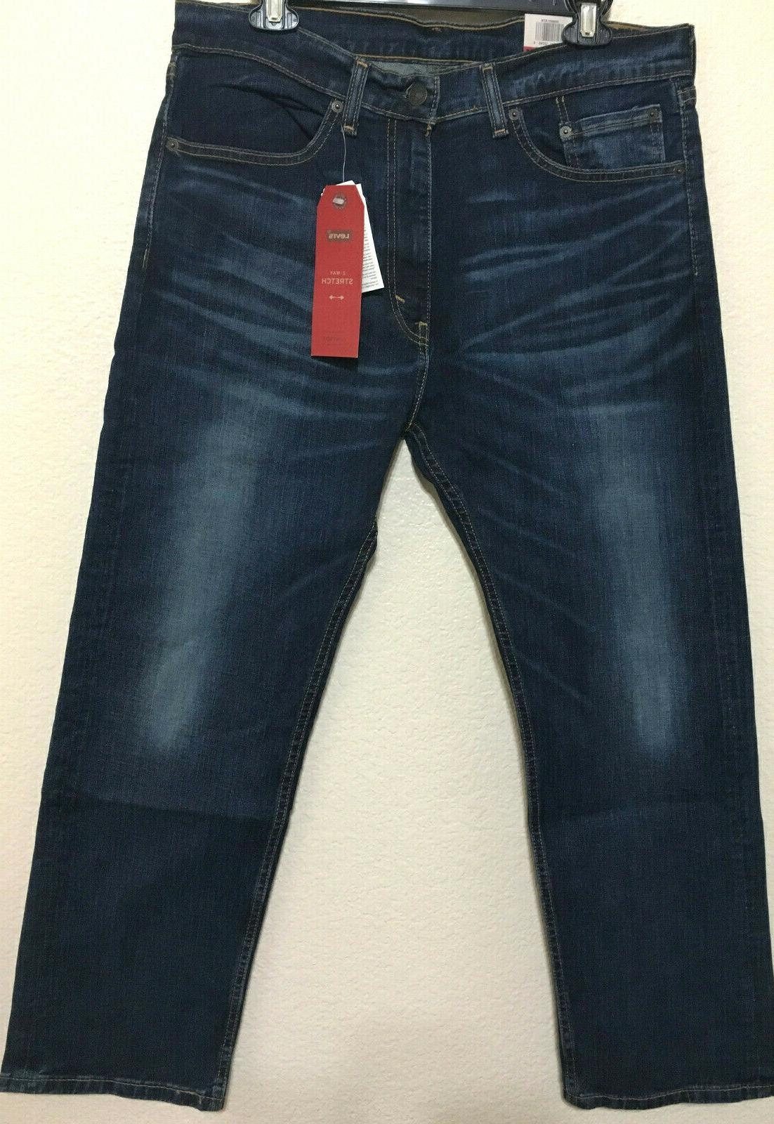 NWT - 1579 REGULAR FIT STRAIGHT STRETCH JEANS PANT