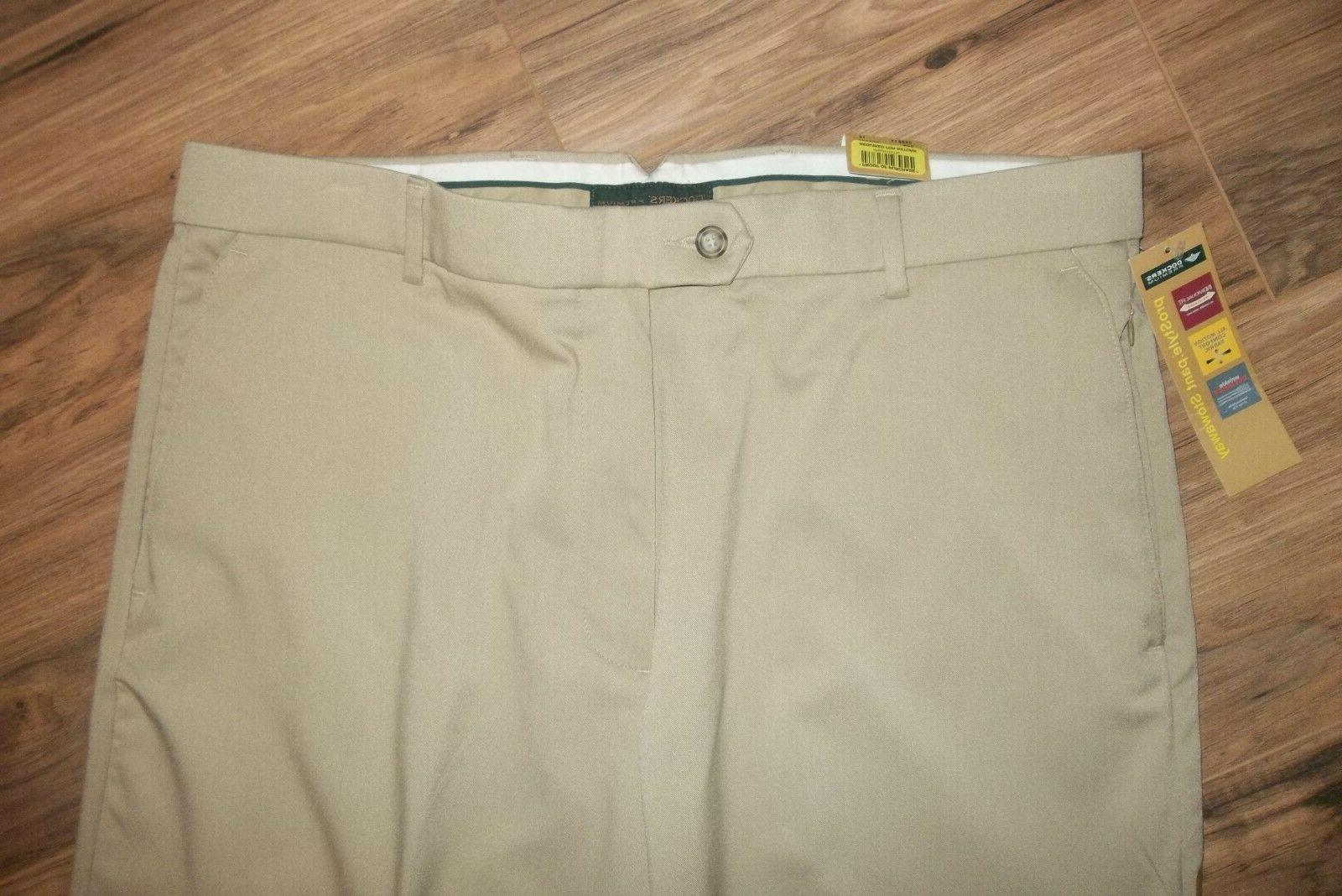 NWT Men's DOCKERS Dress Pants SIZE 36 x 34 Individual Relaxed