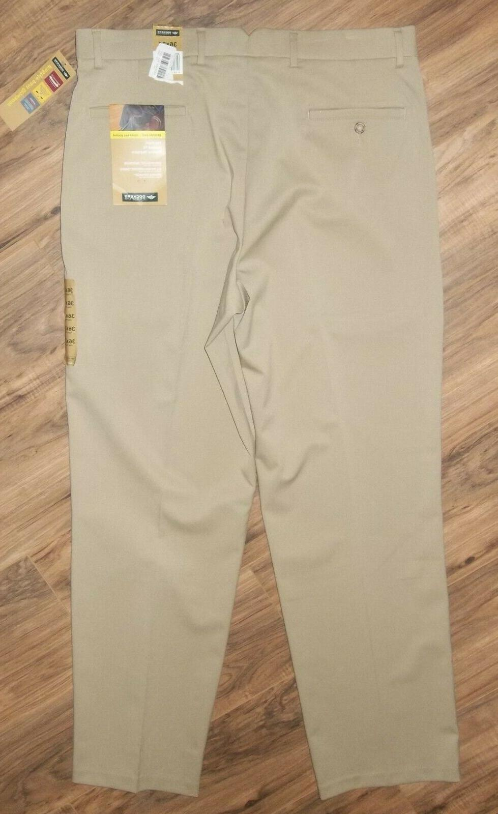 NWT Men's Pants SIZE 36 34 ~ Waistband, Relaxed