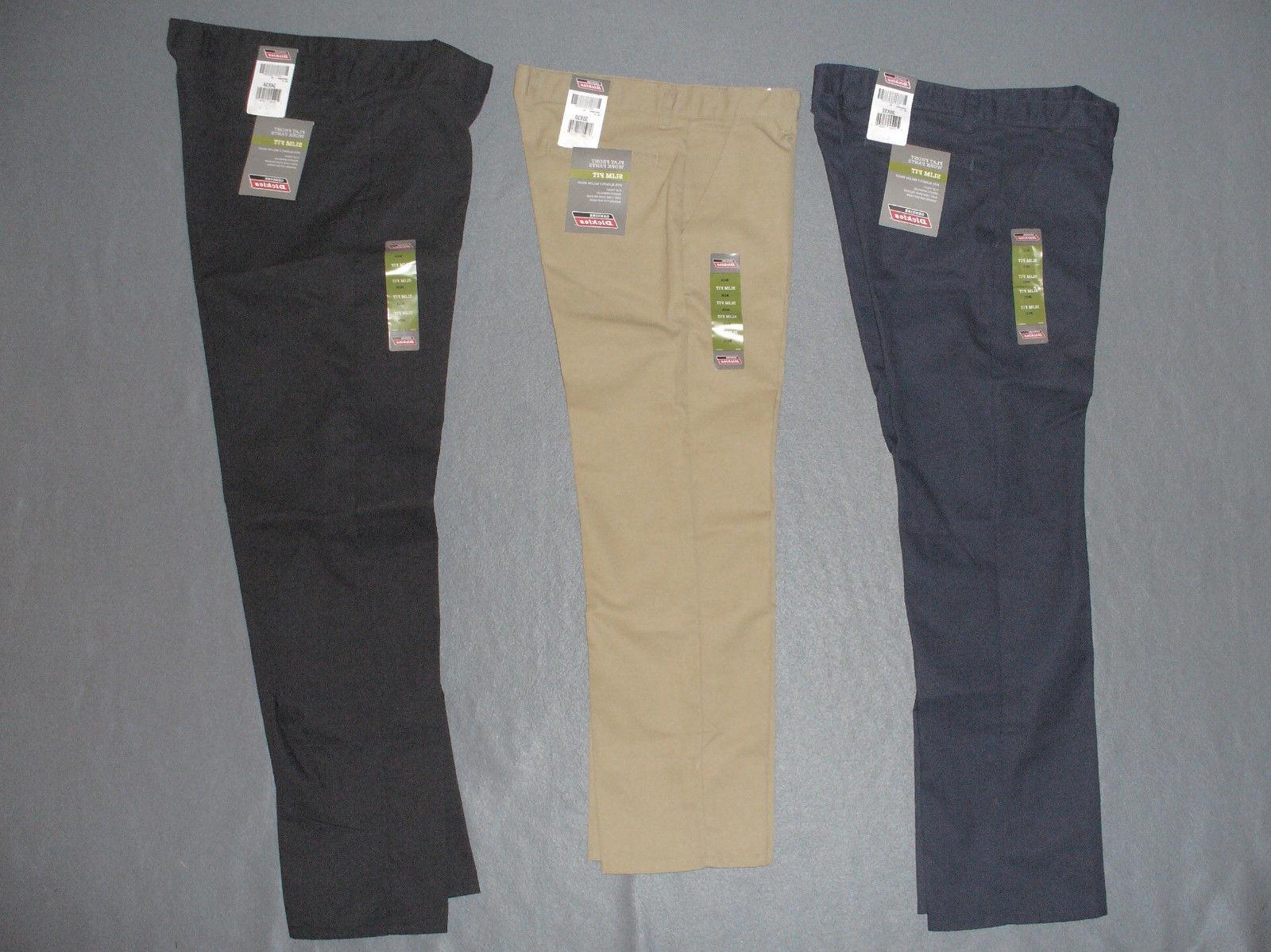 NWT Men's Genuine Dickies GP811 FF Slim Fit Work Pants - U P
