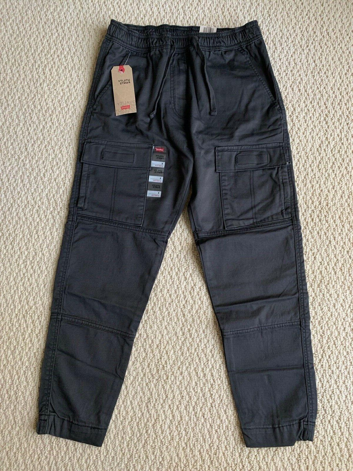 nwt men s levi s charcoal utility