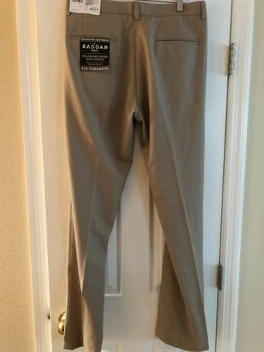 NWT Men's Pants Haggar H26 Super Flex 34x34