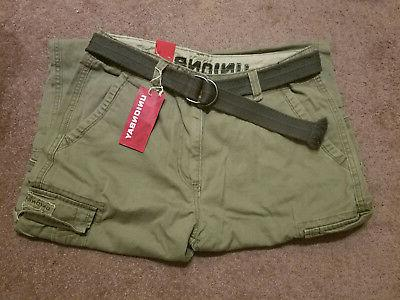 NWT Mens Unionbay Relaxed Cargo Pants 34x32  LEAF