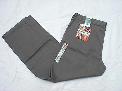NWT MENS LEE WEEKEND CHINO STRAIGHT FIT FLAT FRONT PANTS 429