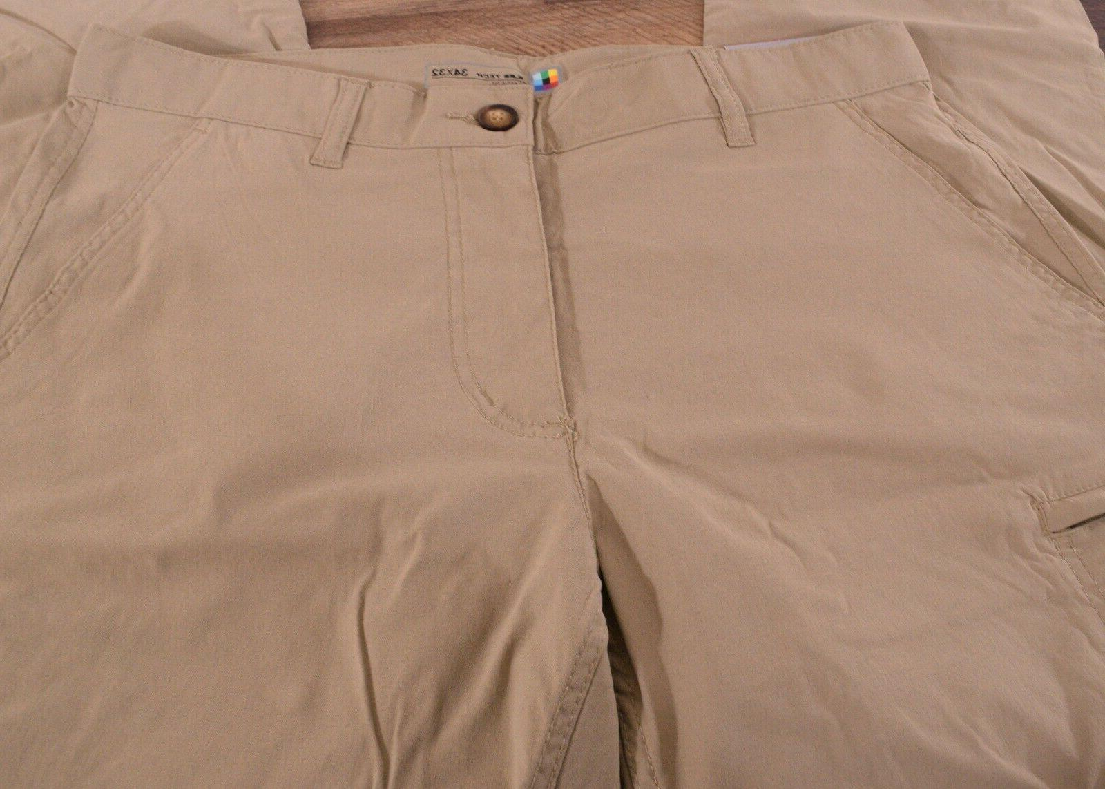 NWT Bay Men's Rainier Comfort Travel Tech Pants