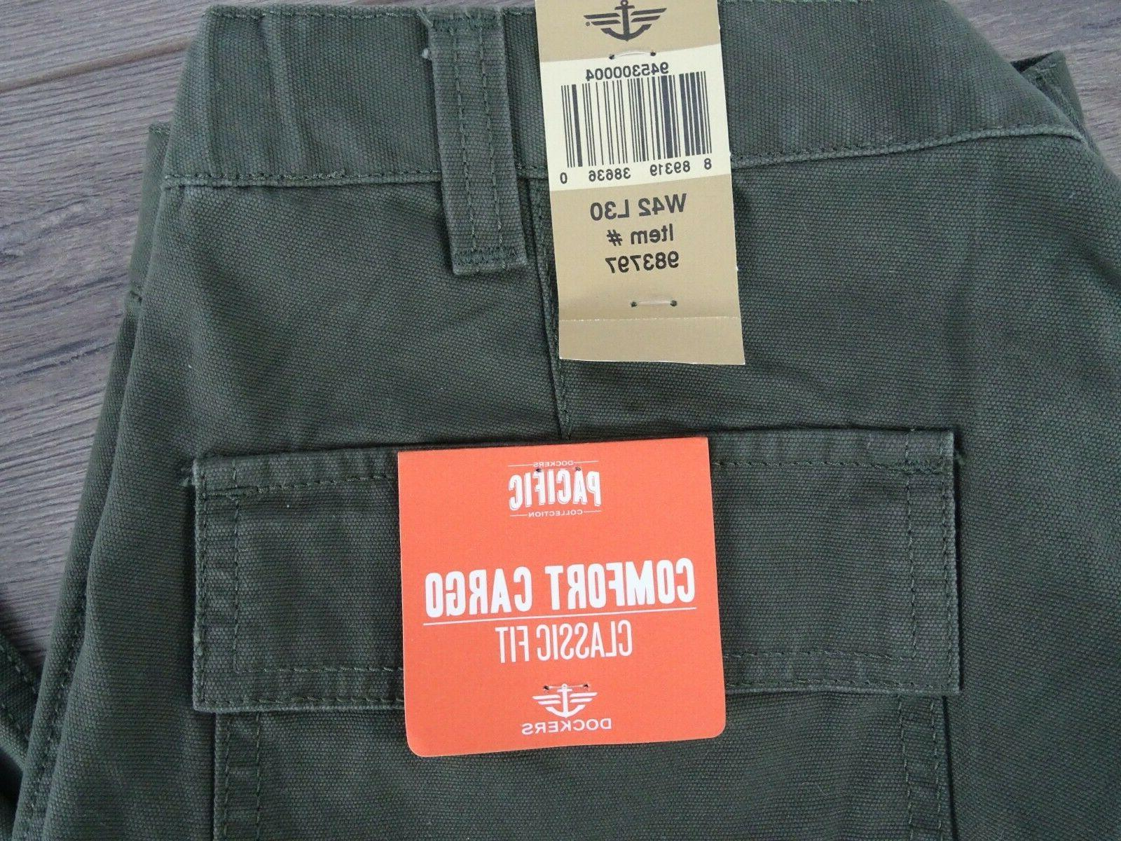Dockers Cargo Classic Fit Olive 42x30