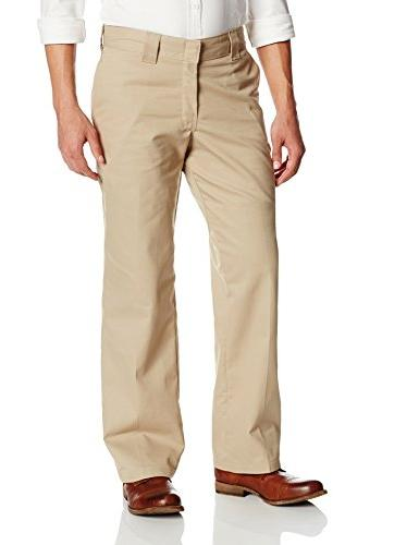 relaxed fit twill work pant