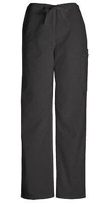 scrubs men s drawstring pant 4100 blkw