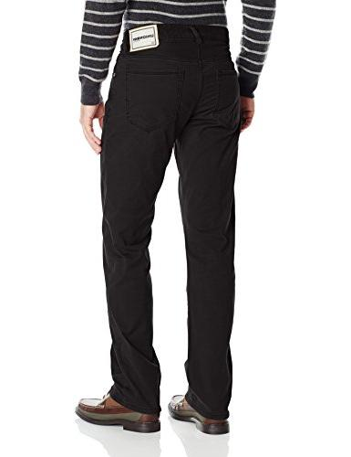 UNIONBAY Shay 5 Straight Pant, Black, 34x32