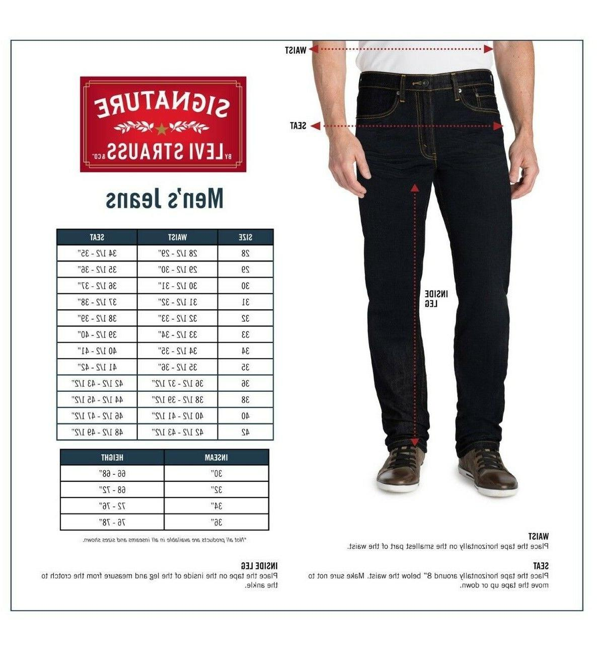 Signature by & Gold Men's Fit - Sizes