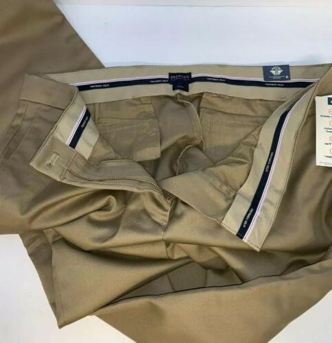 "Dockers Khaki Slim Fit dress pants 36"" with tags"
