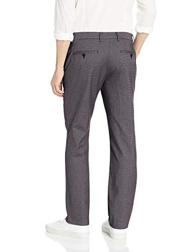 Goodthreads Men's Straight-Fit Stretch Dress Pants, 34W 34L