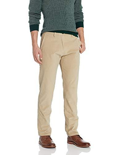 stretch corduroy slim fit flat