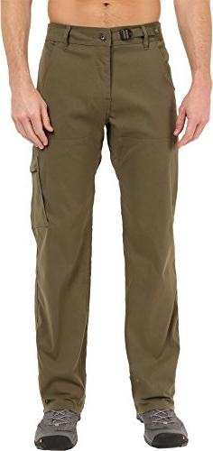 Men's Prana 'Zion' Stretch Hiking Pants, Size 35 x 34 - Gree