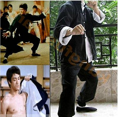 Vingate Bruce Lee Tang Suit Fist of Fury Costume KungFu Wing