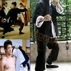 Vintage Wing Chun Kung Fu Outfit Uniform Bruce Lee Costume M