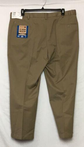 Haggar Weekend Khaki Tan Size Stretch Waist