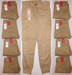levi s men s banded cargo jogger