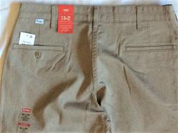 Levi's Men's NWT 541 0003 32x32 Beige Twill ~ Athletic Fit ~