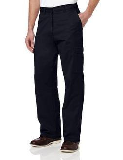 Dickies Men's Loose Fit Cargo Work Pant, Dark Navy, 44x32