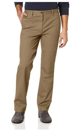 Dockers Men Easy Khaki D1 Slim Fit Flat Front Pant Select Si