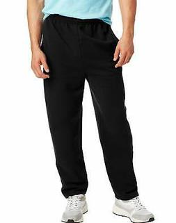 Hanes Men Fleece Sweatpants w/ pockets ComfortSoft EcoSmart
