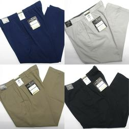 Men JM Haggar Luxury Comfort Pants Premium Flex Waist Classi