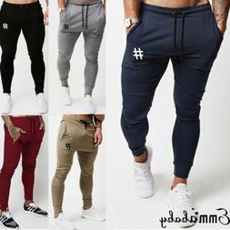 Men Jogger Pants Sports Gym Workout Hip Hop Tracksuit Trouse