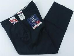 Men Haggar Khaki Pants 40x29 Work to Weekend Relaxed Fit No
