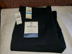 Dockers Men's 36x34 The Best Pressed Flat Front Athletic Fit