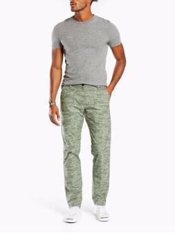 Dockers Men's $58 Ripstop Athletic Fit Stretch Pants Green A
