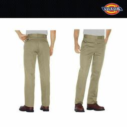 Dickies Men's #874 Original Fit Work Pants Military Khaki Si