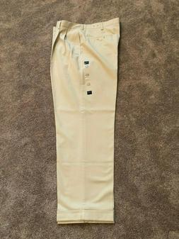 IZOD Men's American Chino Classic Fit Double Pleated Pants 1