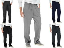 Men's Athletic Pants by CHAMPION Open Bottom w/ Pockets Size