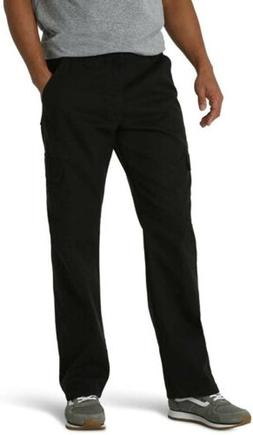 Wrangler Men's Big & Tall Classic Twill Relaxed Fit Cargo Pa