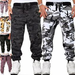 Men's Camouflage Trousers Jogging Trousers Sports Pants Fitn