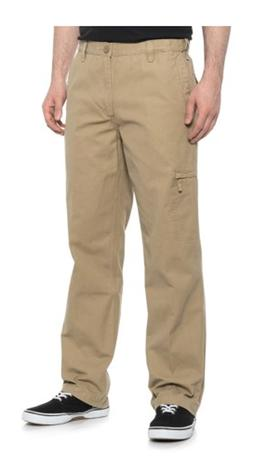 Dockers Men's Comfort Cargo Classic Fit D3 Pants Dark Khaki