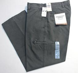 Dockers Crossover D3 Classic Forged Iron Flat-Front Cargo Pa