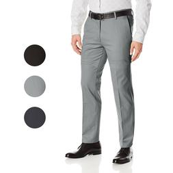 Boltini Italy Men's Flat Front Slim Fit Slacks Trousers Dres