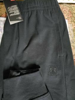 Men's Under Armour Joggers Black Pants NEW Size XXL