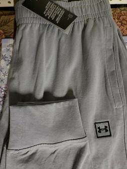 Men's Under Armour Joggers Gray Pants NEW Size XXL