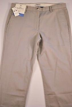 men's Dockers pants slim fit size 32 x 32 gray cotton mix fo