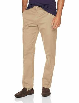 LEE Men's Performance Series Tri-Flex No Iron Relaxed Khaki