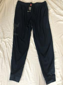 Under Armour Men's Project Rock French Terry Jogger Pants Sz