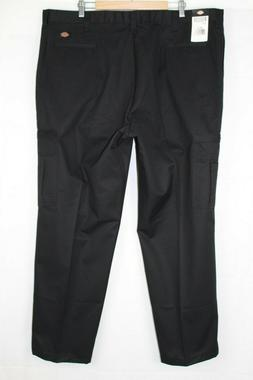 Dickies Men's Relaxed Fit Industrial Cargo Pant 46 x 32 Blac