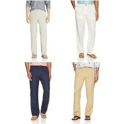 28 Palms Men's Relaxed-Fit Linen Casual Summer Pant Drawstri