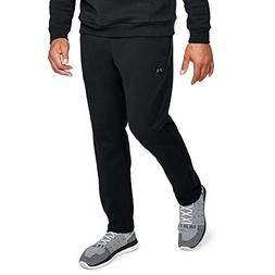 Under Armour Men's Rival fleece pants, Black /Black, Large